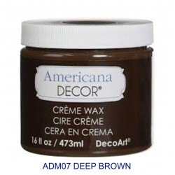 CREME WAX DEEP BROWN 236ml...